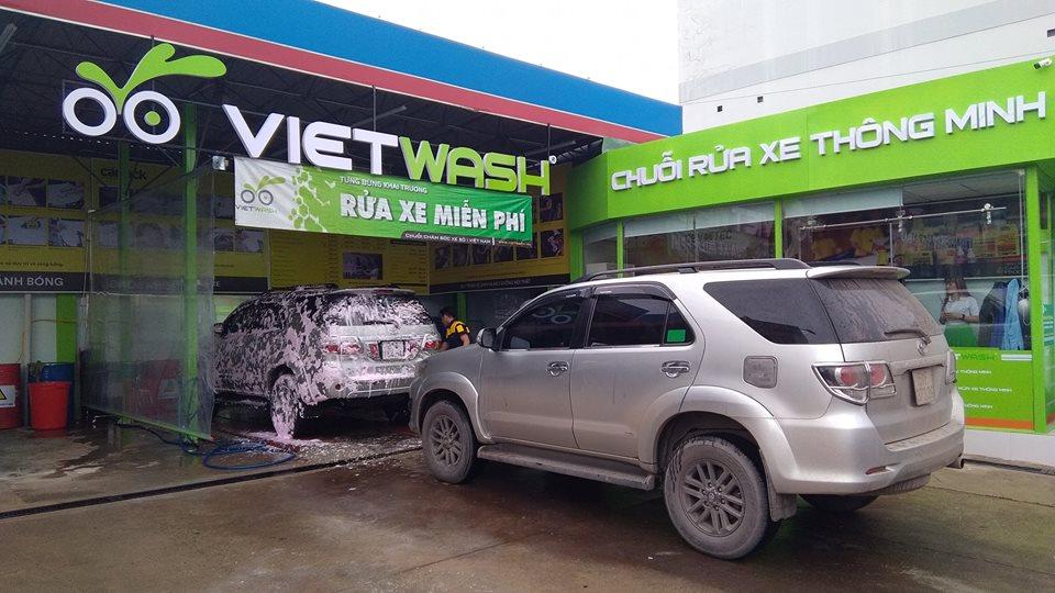 Chuỗi Rửa Xe Thông Minh Vietwash 53, tại cửa hàng xăng dầu Sài Gòn Petro 01 - Quận 5