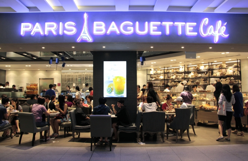 Tiệm bánh Paris Baguette Cafe - 1 Cao Thắng, Phường 2, Quận 3
