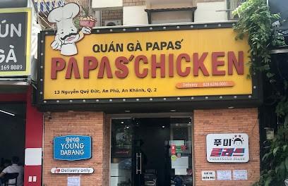 Quán gà rán Papas' Chicken - 13 Nguyễn Quý Đức, phường An Phú, Thủ Đức