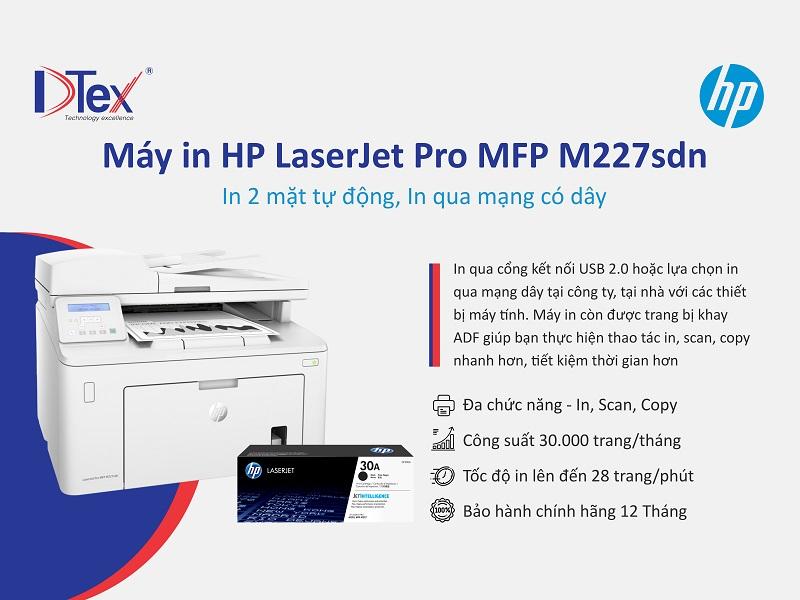 Địa chỉ mua máy in HP LaserJet Pro MFP M227sdn tại 703/18 Tỉnh Lộ 10, Phường Bình Trị Đông B, Quận Bình Tân