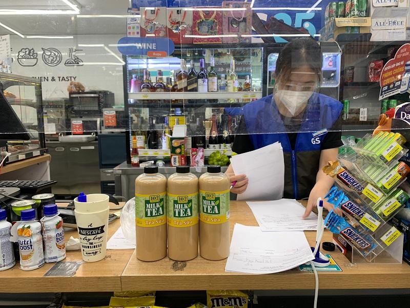 Địa chỉ bán Trà sữa 102 Premium tại cửa hàng tiện lợi GS25, Trung tâm TM Nowzone, 235 Nguyễn Văn Cừ, Phường Nguyễn Cư Trinh, Quận 1