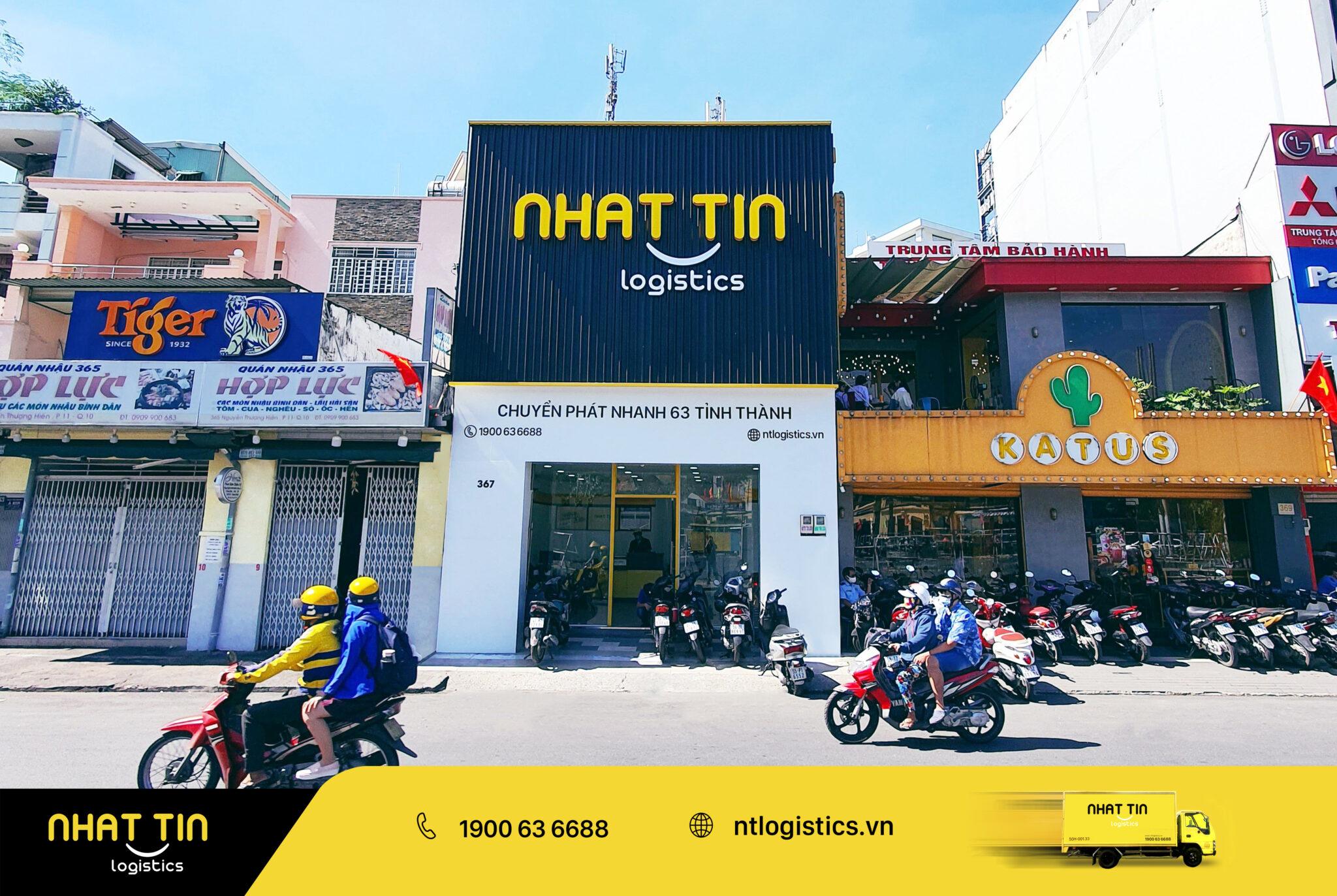 Công ty chuyển phát nhanh Nhất Tín Logistics - Bưu cục Tân Định, 4A Lý Văn Phức, Phường Tân Định, Quận 1