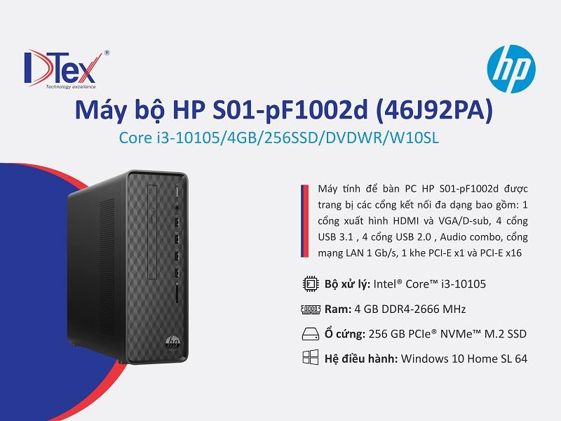Địa chỉ bán máy bộ học online HP S01-pF1002d 46J92PA tại 703/18 Tỉnh Lộ 10, Phường Bình Trị Đông B, Quận Bình Tân