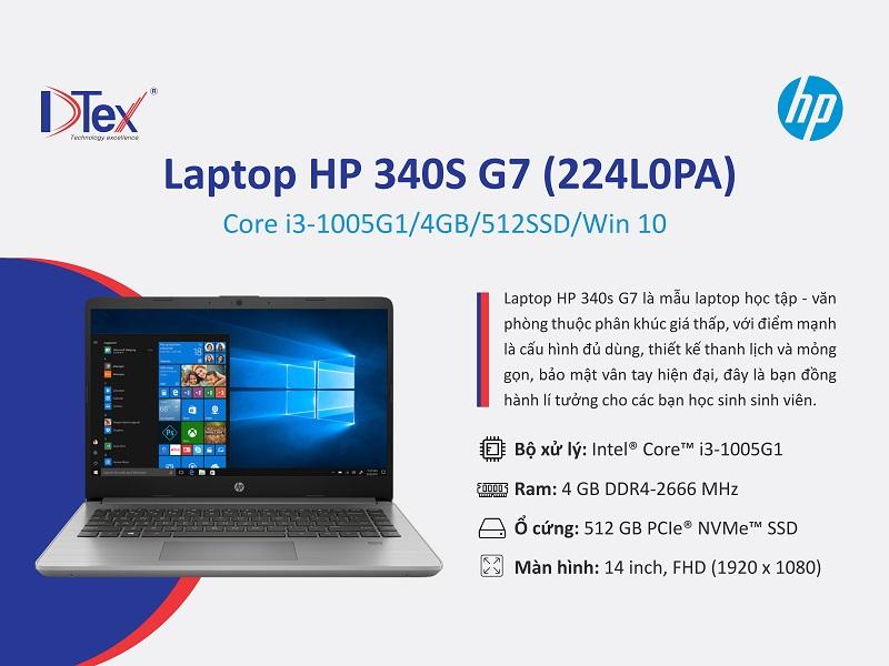 Địa chỉ mua Laptop HP 340s G7 224L0PA tại 703/18 Tỉnh Lộ 10, Phường Bình Trị Đông B, Quận Bình Tân
