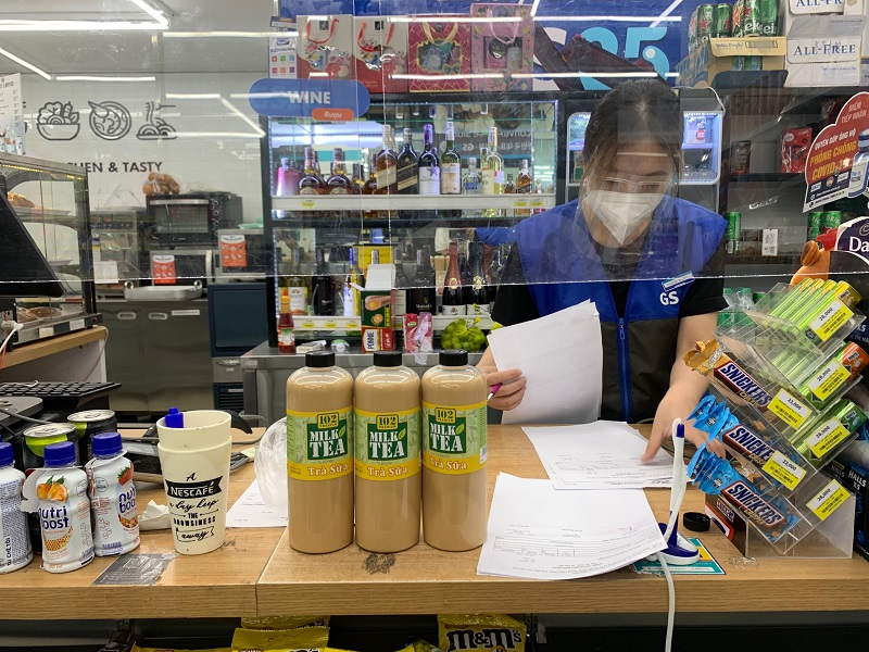 Địa chỉ bán Trà sữa 102 Premium tại cửa hàng tiện lợi GS25, 276 Điện Biên Phủ, Phường 25, Quận Bình Thạnh