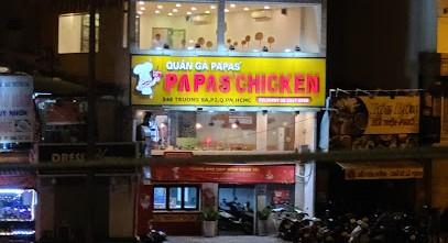 Quán gà rán Papas' Chicken - 346 Trường Sa, phường 2, Phú Nhuận